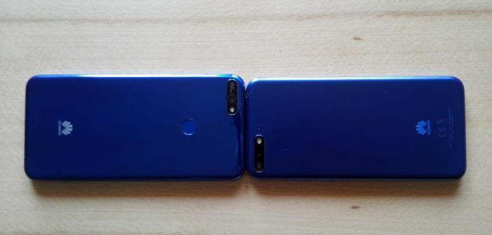 Huawei Y7 & Huawei Y6 Rückseite