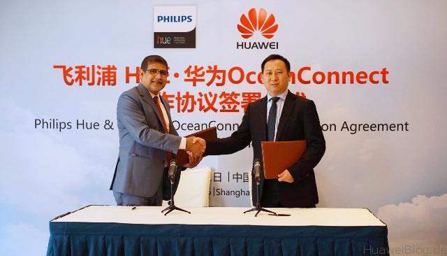 Huawei und Philips Lighting