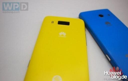 Huawei Ascend W3 Back