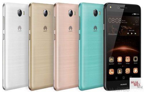 Huawei Y 5II, Front, Farbvarianten, Rückseite