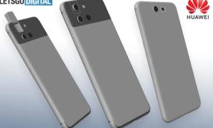Huawei P Smart 2020 patent letsgodigital
