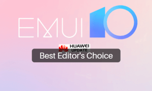 EMUI 10 is the best Editor's Choice