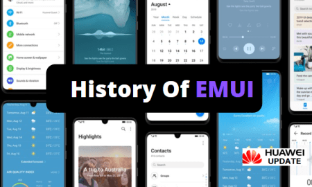 History Of EMUI - Things change with Emotion UI