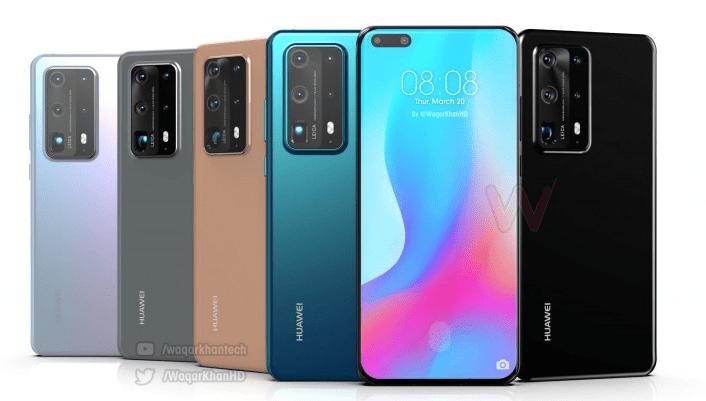 Huawei P40 Pro Waqar Khan