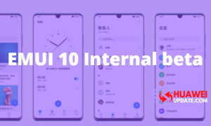 EMUI 10 Internal Beta