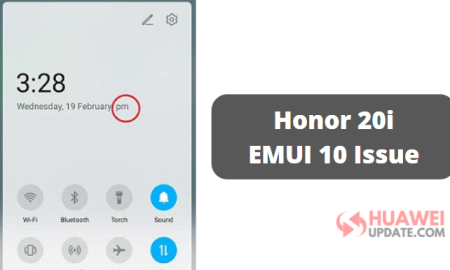 Honor 20i EMUI 10 Issue