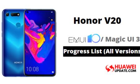 Honor V20 Magic UI 3.0 and EMUI 10
