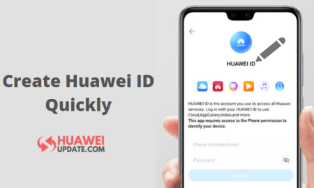 How to create a Huawei ID quickly