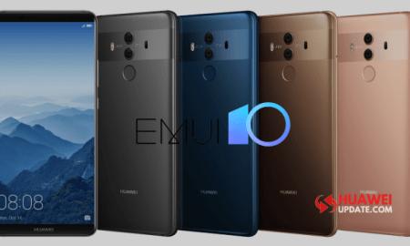 Huawei Mate 10 series emui 10