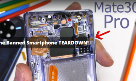 Huawei Mate 30 Pro Teardown Video