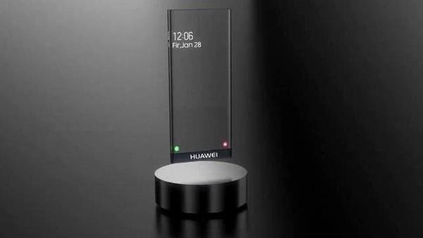 Huawei Mate 40 Concept transparent