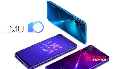 Huawei Nova 5T EMUI 10