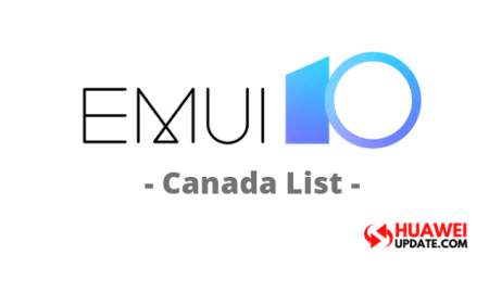EMUI 10 Canada