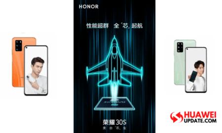Honor 30S Kirin 820
