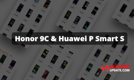 Honor 9C and Huawei P Smart S