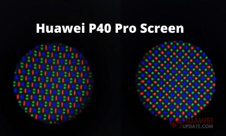Huawei P40 Pro screen
