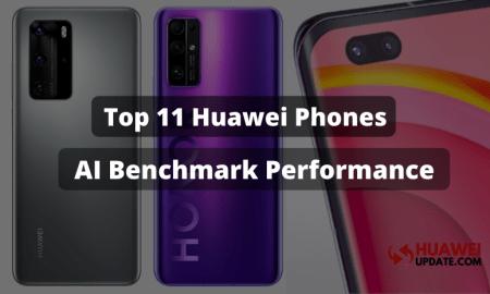AI Benchmark Performance Ranking Huawei and Honor 11 phones