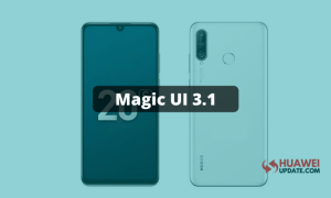 Honor 20S Magic UI 3.1