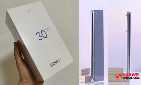 Honor 30 Pro Plus 5G Retail Box Leaked