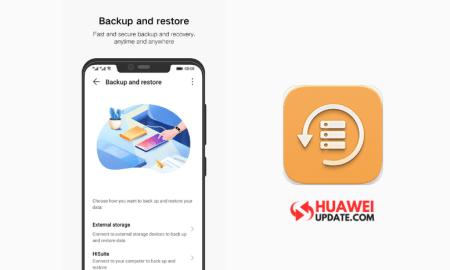 Huawei Backup Update