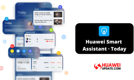 Huawei Smart Assistant · Today