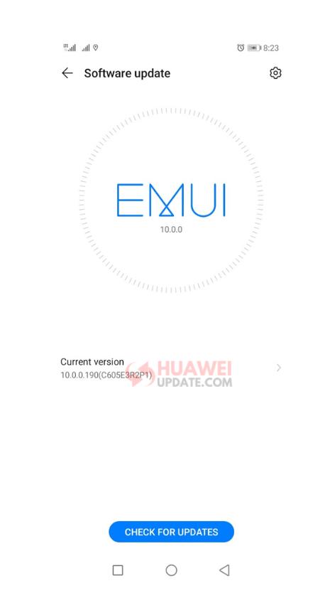 Huawei Y9s EMUI 10 Panama