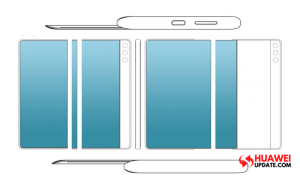 Huawei pull-out display