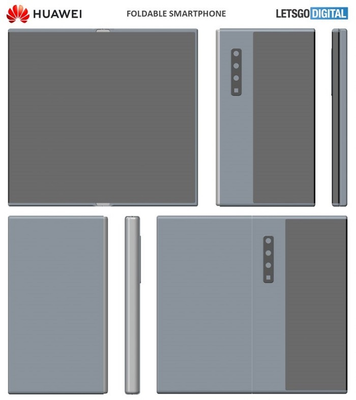 Huawei's new patent for folding screen -3