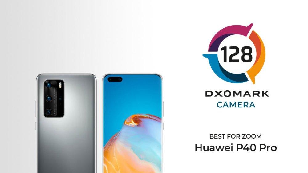 DXOMARK Best for Zoom - Huawei P40 Pro