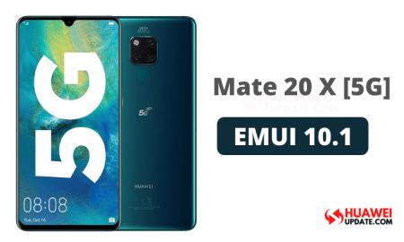 Huawei Mate 20 X 5G EMUI 10.1 Update