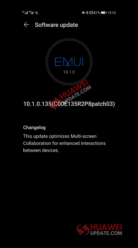 Huawei P30 and P30 Pro 10.1.0.135 Changelog