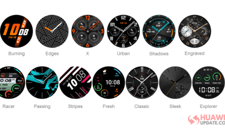 Huawei Watch GT 2- Watch Faces