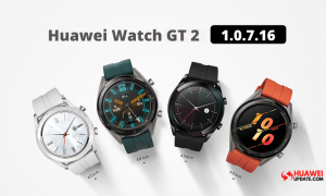 Huawei Watch GT 2 version 1.0.7.16 update