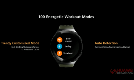Huawei Watch GT 2e 100 Workout Modes