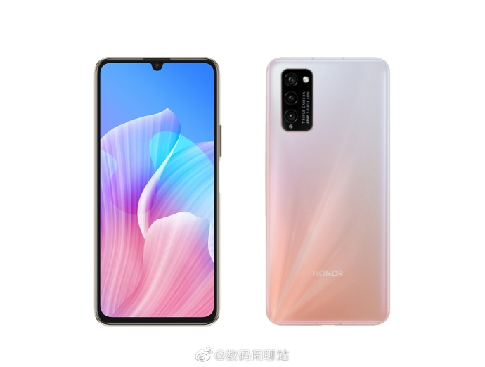 Honor 30 Youth Edition render