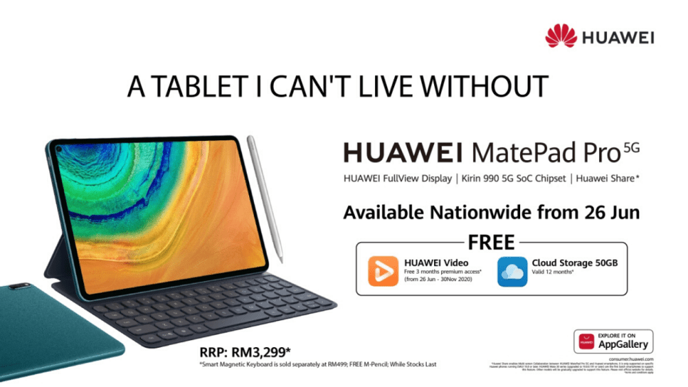 Huawei MatePad Pro 5G Malaysia