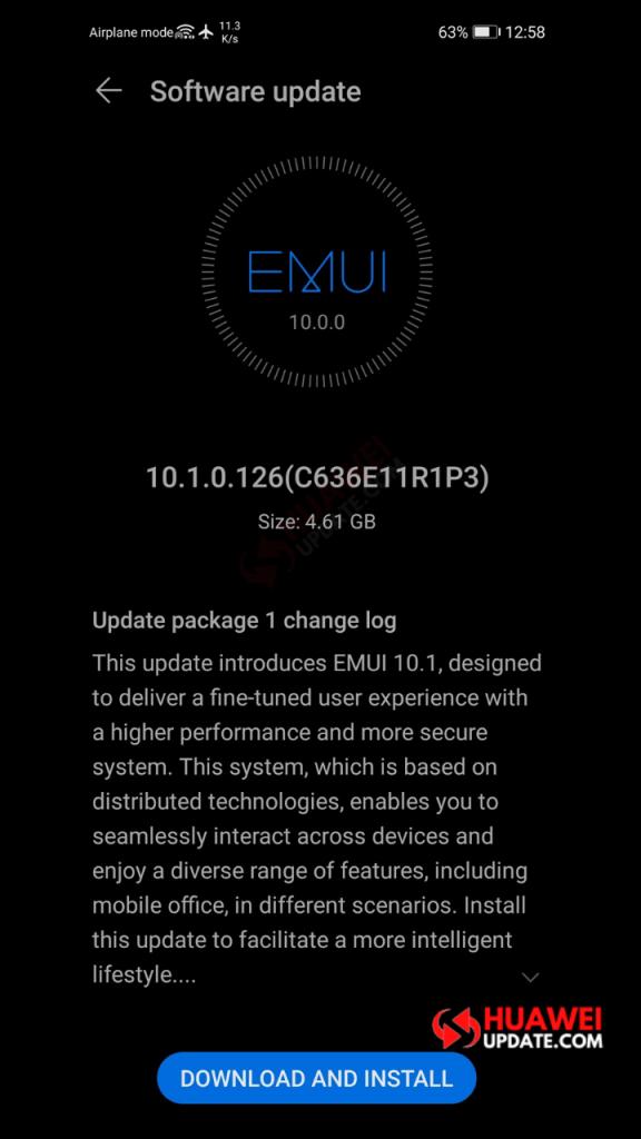 Huawei P30 Pro EMUI 10.1 Malaysia Full package