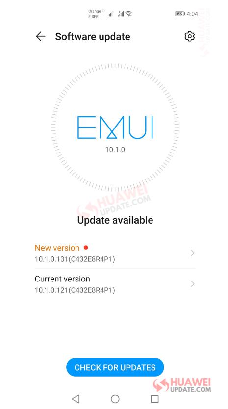 Huawei P40 Pro EMUI 10.1.0.131