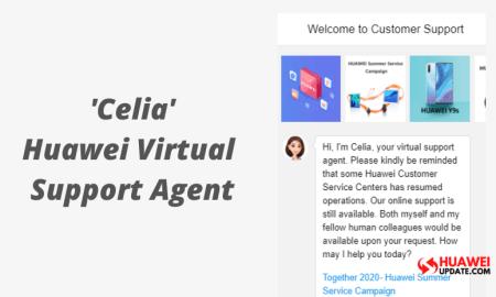 Meet Celia Huawei's Virtual support agent