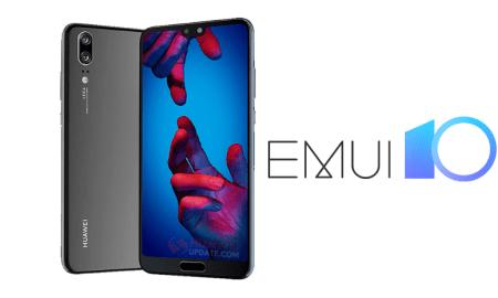 Three UK EMUI 10 - Huawei P20