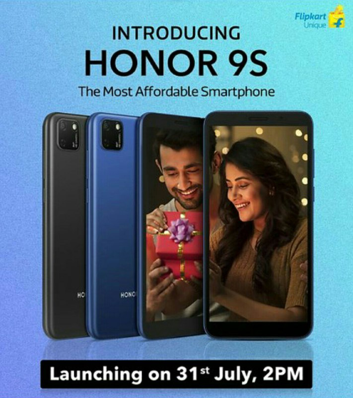 Honor 9S India