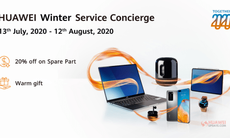 Huawei Winter Service Concierge