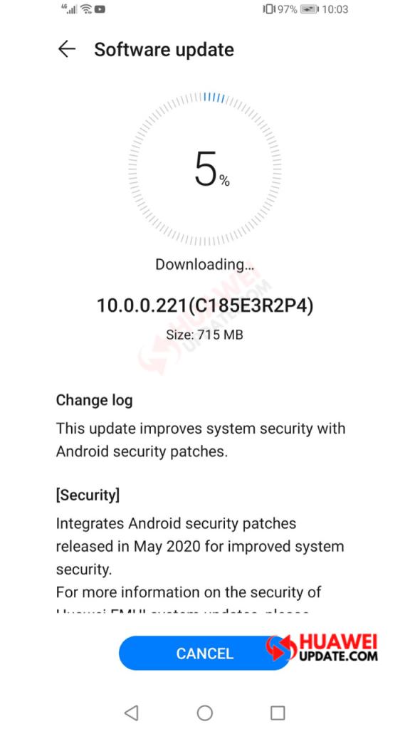 P30 Lite EMUI 10.0.0.221