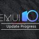 EMUI 10.1 Progress