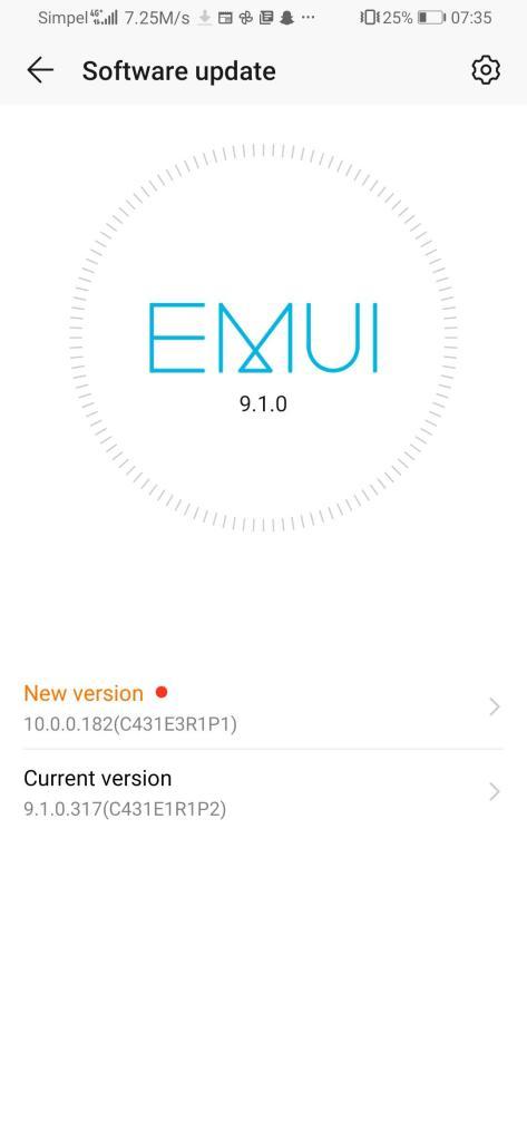 Honor 9X EMUI 10.0.0.182