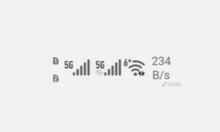Huawei Dual 5G SIM phone