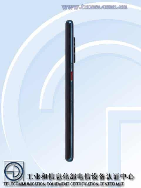 Huawei's new 5G phone TENAA