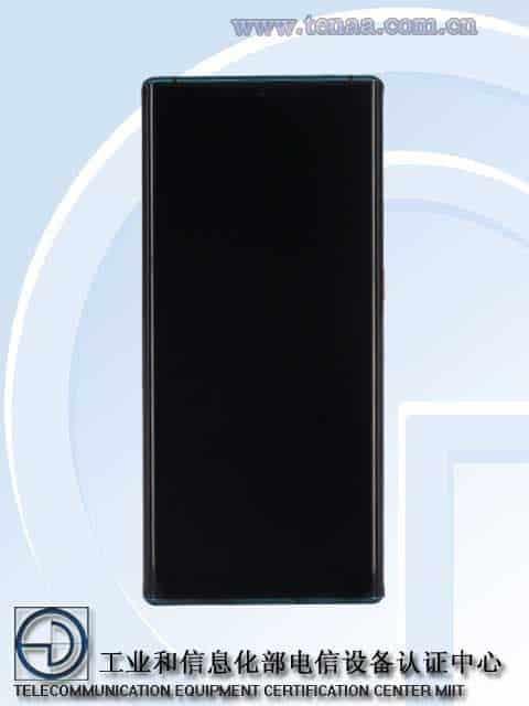 Huawei's new 5G phone like Mate 30 Pro TENAA