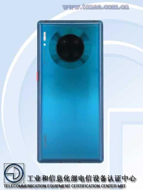 Huawei's new 5G phone like Mate 30 Pro appeared on TENAA