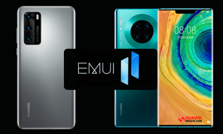 EMUI 11 beta P40, Mate 30, MatePad Pro Series